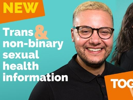 Page 3 of THT to meet sexual health needs of trans & non-binary people