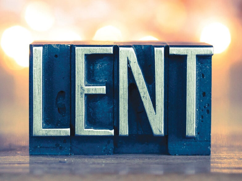 Page 1 of A Guide For Your Lenten Journey: Don't Miss Out on Our Faith Formation Opportunities