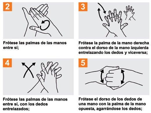 Page 4 of Lávate las Manos