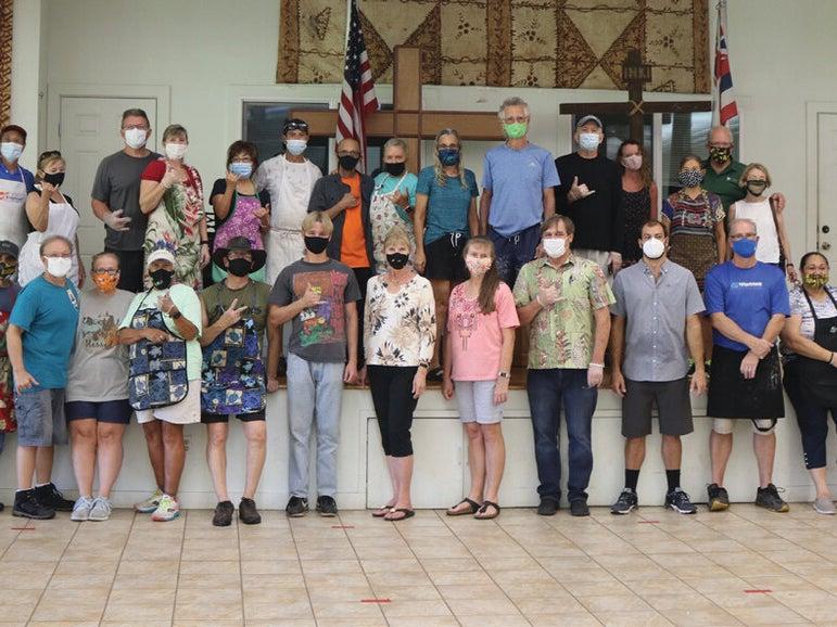 Page 1 of Hale Kau Kau Continues to Serve and Provide Holiday Meals Amid Pandemic