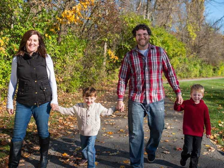 Page 8 of Meet the CEO of the Angelman Syndrome Foundation - Amanda Moore & her Family – Adam, Jackson & Baden