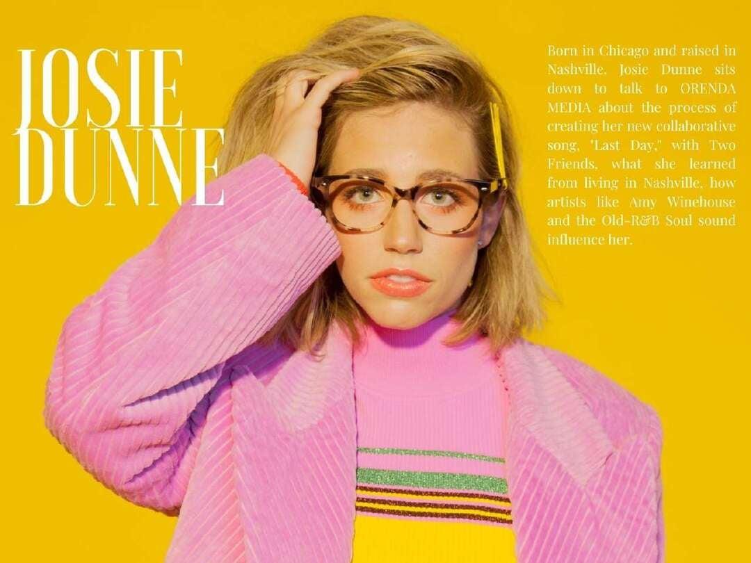 Page 34 of Josie Dunne for ORENDA Magazine
