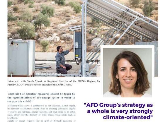 """Page 12 of """"AFD Group`s strategy as a whole is very climate-oriented"""""""
