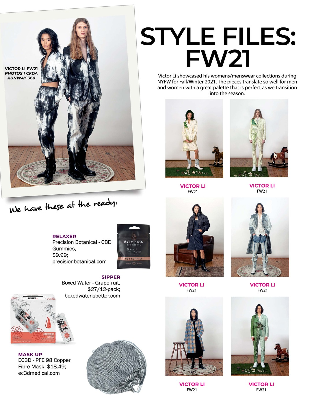 Page 112 of Athleisure Mag #62 Feb 2021 | Style Files FW21