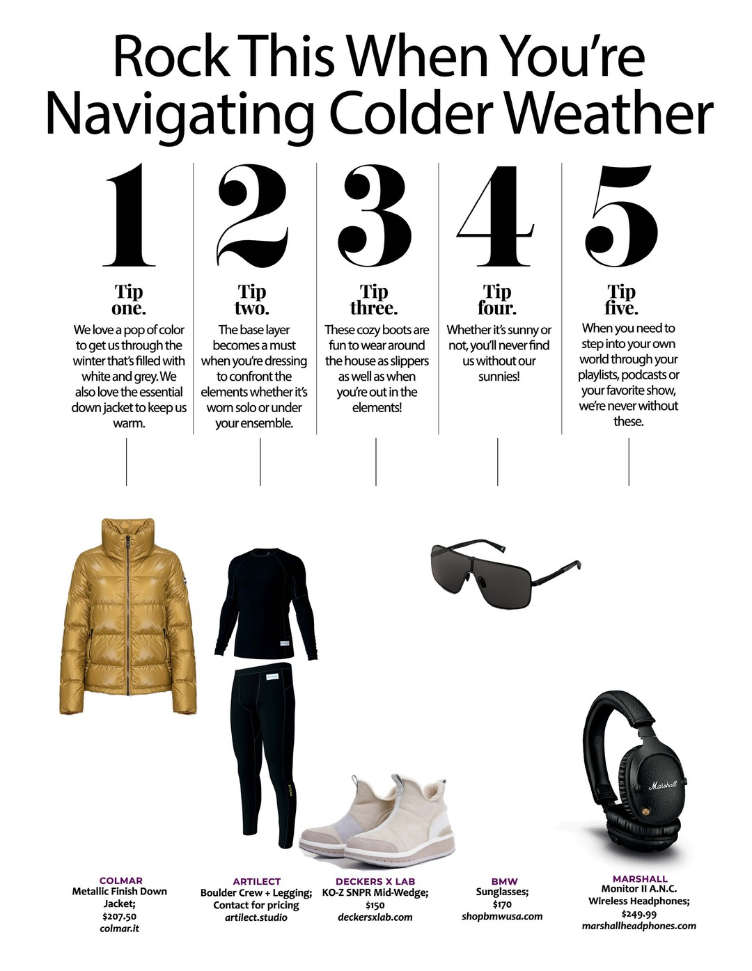 Page 113 of Athleisure Mag #62 Feb 2021 | Rock This When You're Navigating Colder Weather