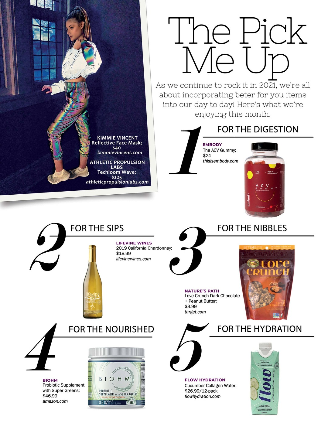 Page 71 of Athleisure Mag #62 Feb 2021 | The Pick Me Up