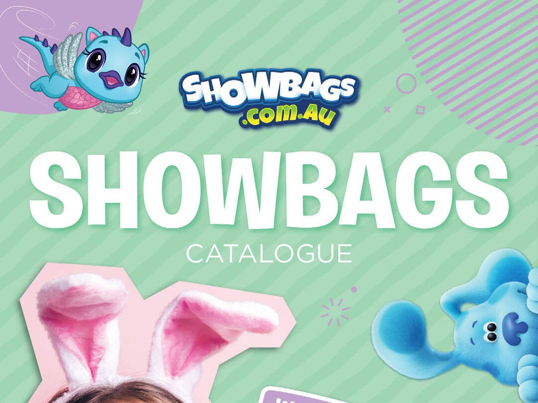 Page 1 of Sydney Easter Show 2021 - Showbags Catalogue