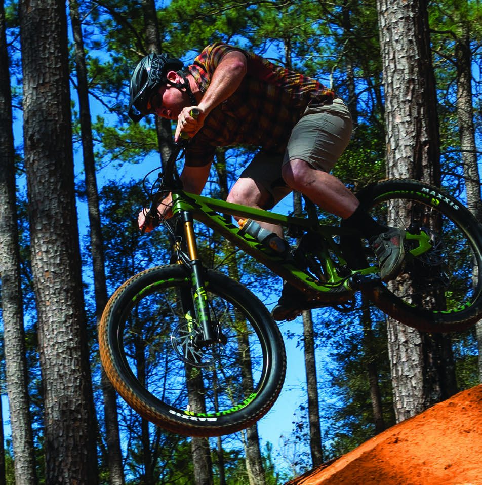 Page 4 of On the Cover: Mountain Biking in the Bayou