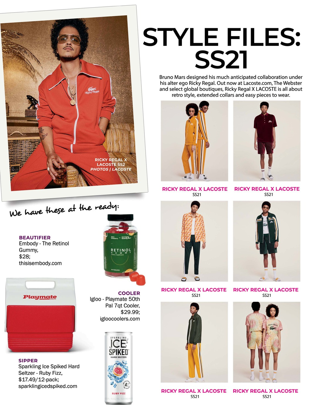 Page 102 of ATHLEISURE MAG #63 MAR 2021   STYLE FILES: SS21