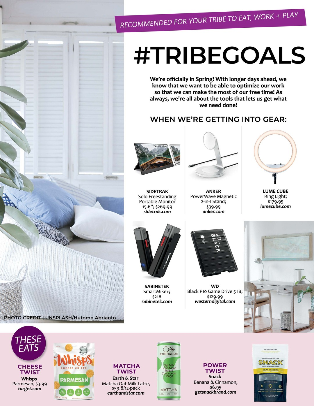Page 110 of ATHLEISURE MAG #63 MAR 2021   #TRIBEGOALS
