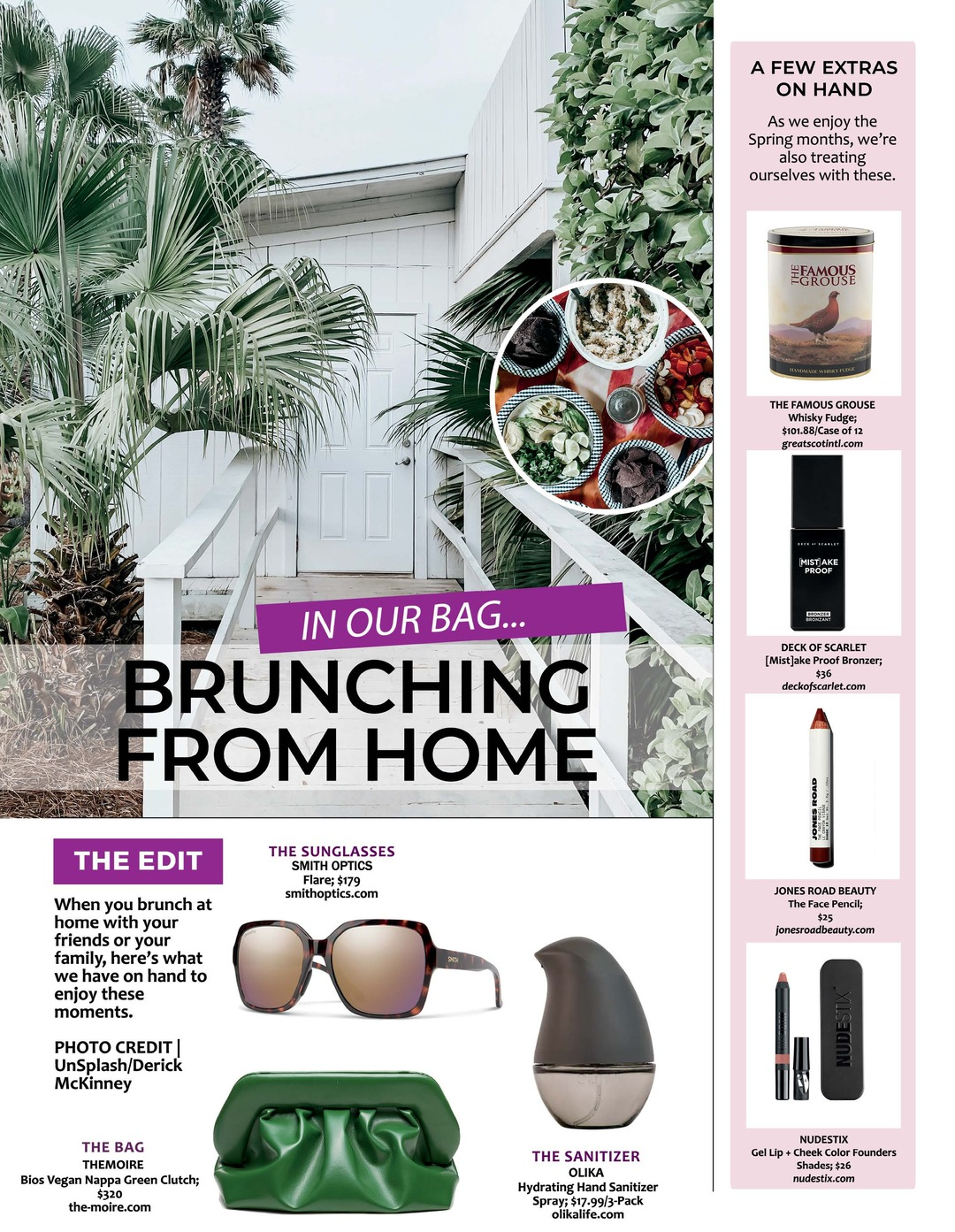Page 78 of ATHLEISURE MAG #63 MAR 2021   In Our Bag: Brunching From Home