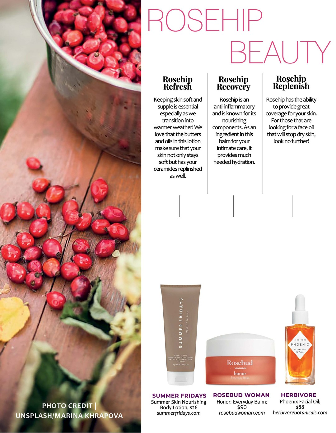 Page 98 of ATHLEISURE MAG #63 MAR 2021   Rosehip Beauty
