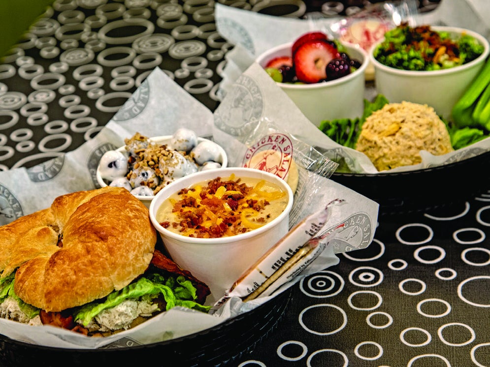 Page 1 of Favorite place for healthy dining....Chicken Salad Chick!!!