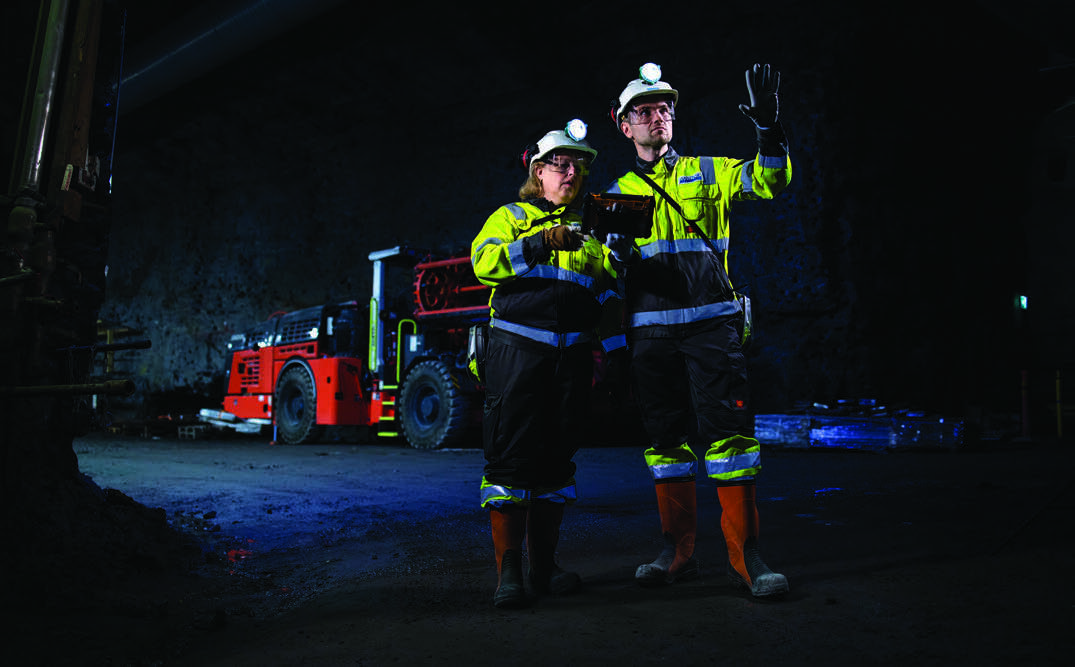 Page 42 of Mining 4.0 comes of age with private wireless