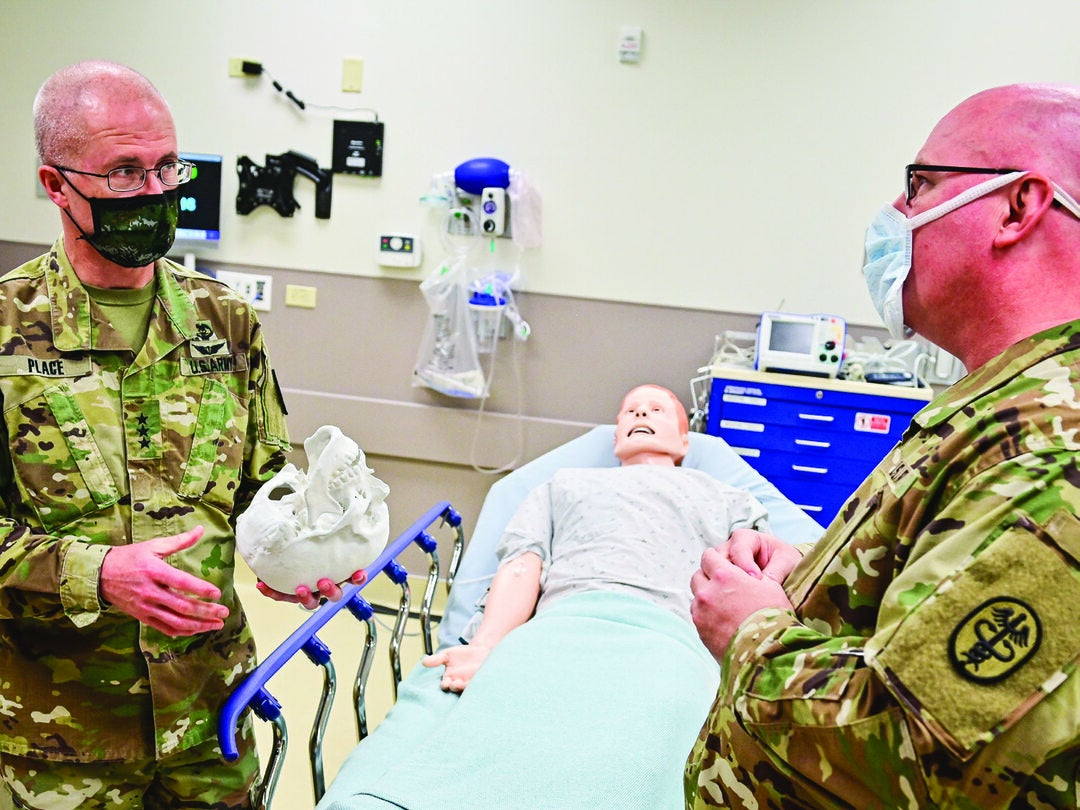 Page 1 of INTERVIEW: LT. GEN. RONALD J. PLACE, MD, DIRECTOR, DEFENSE HEALTH AGENCY (DHA)