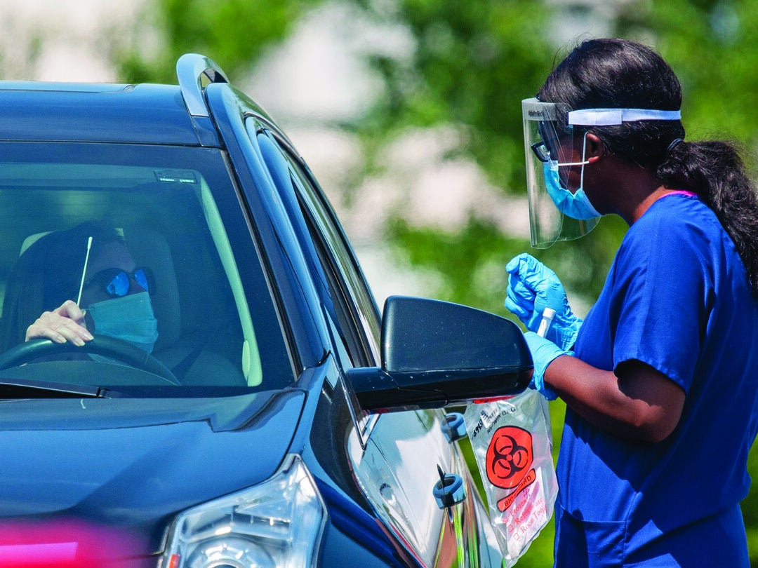 Page 2 of VA AND MHS NURSES RESPOND TO PANDEMIC CHALLENGES