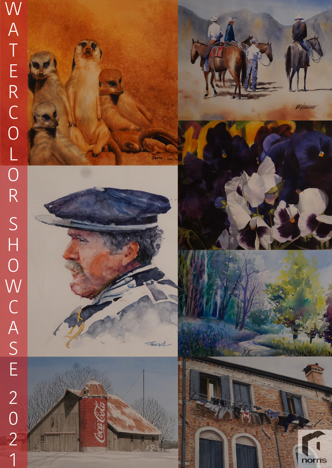 story from: Norris Cultural Arts Presents WaterColor Gallery (2021)