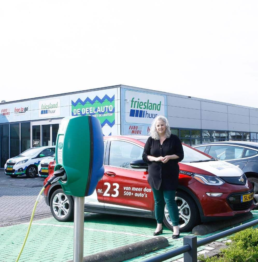 Page 42 of  Friesland Huur: 'Flexibele mobiliteit heeft de toekomst'