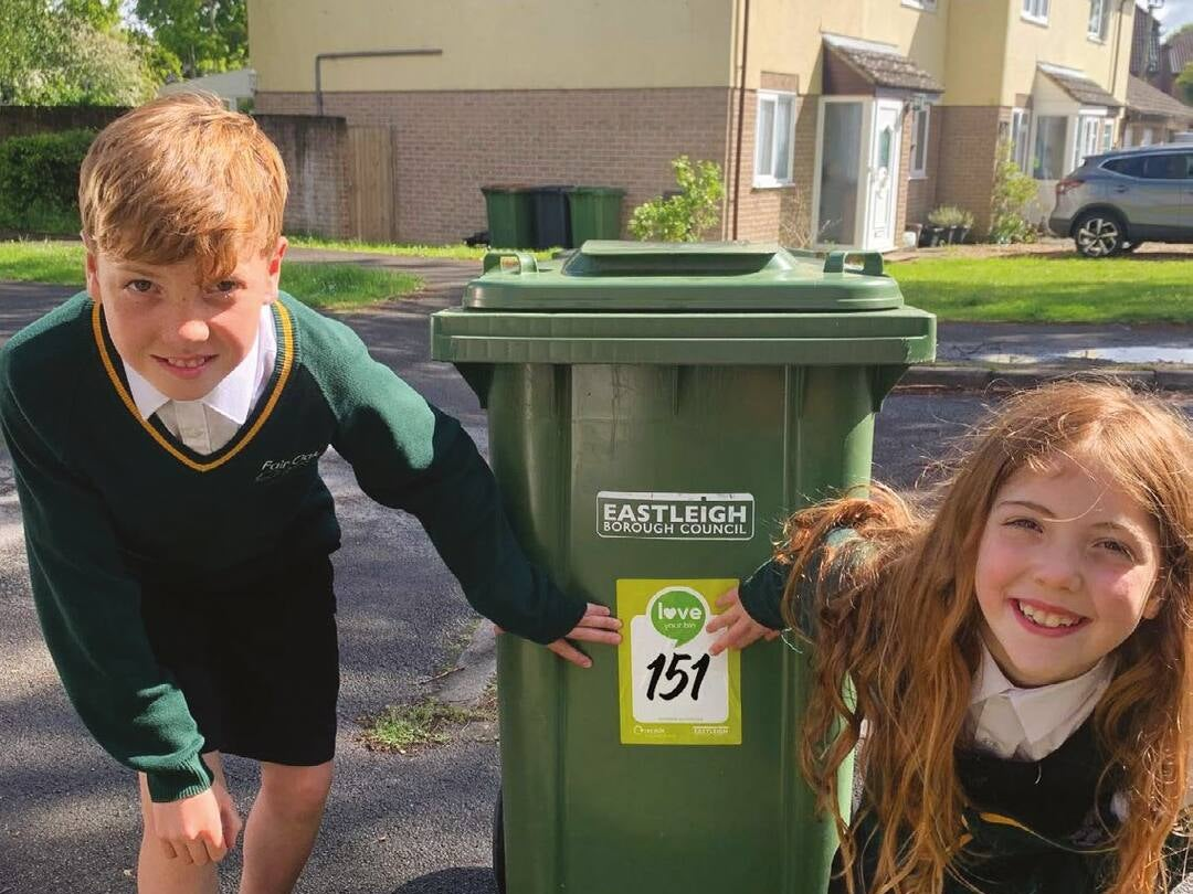 Page 6 of Remember to number your bin