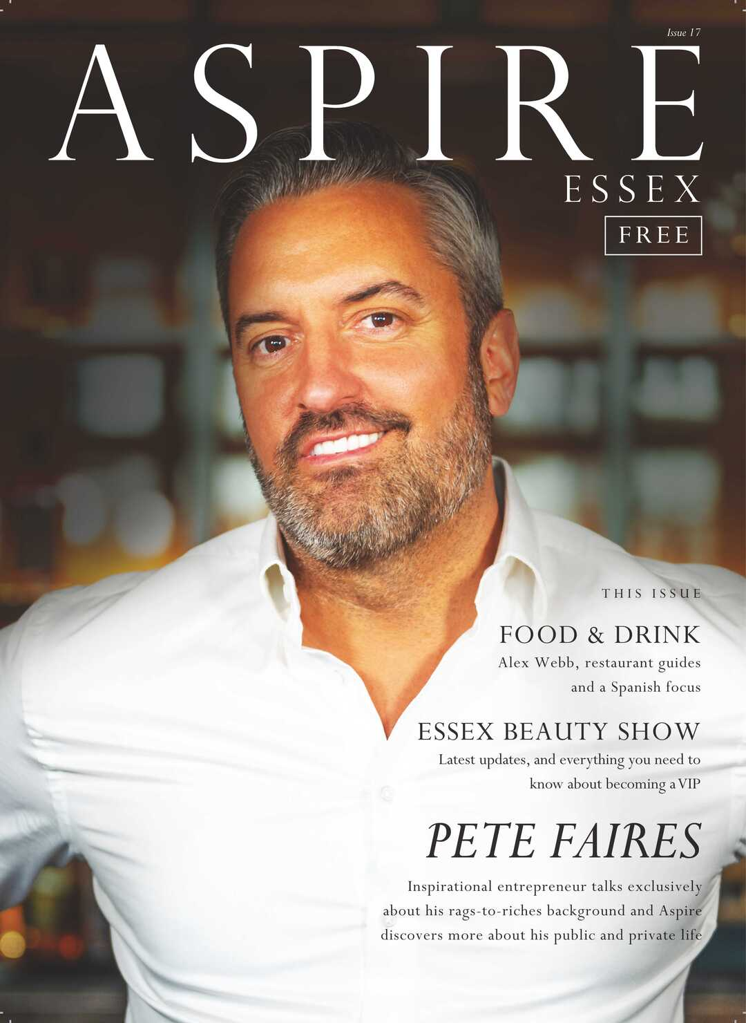 Page 1 of Aspire Essex Magazine Issue 17 Front Cover