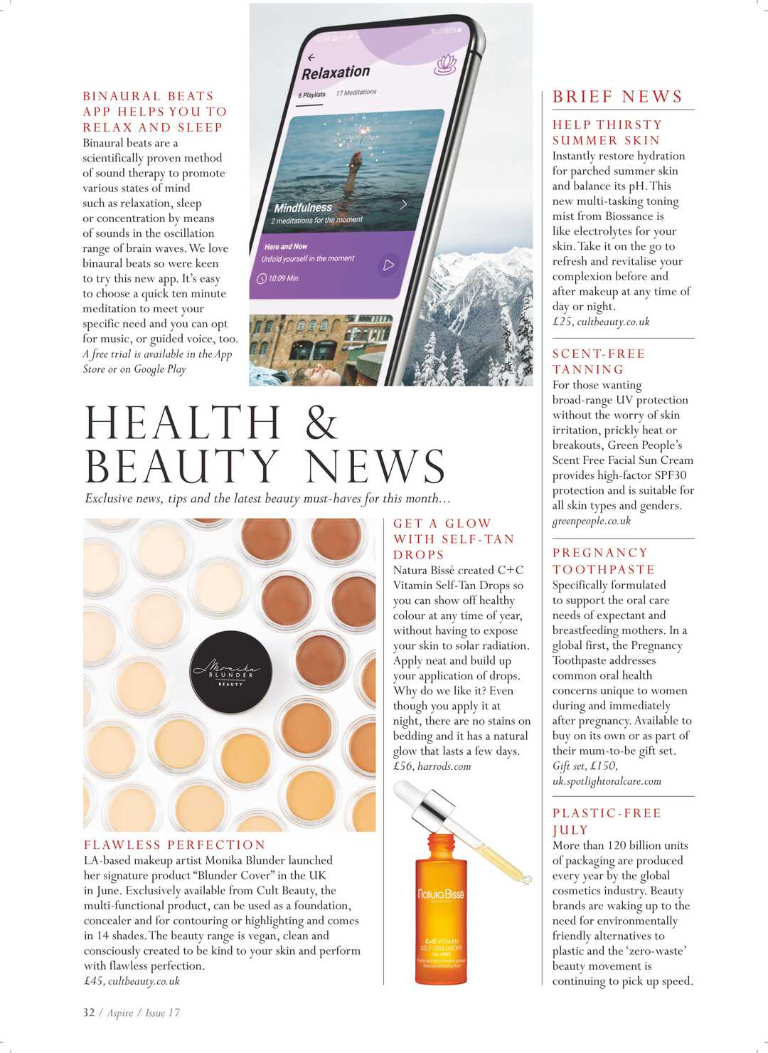 Page 32 of Health & Beauty News