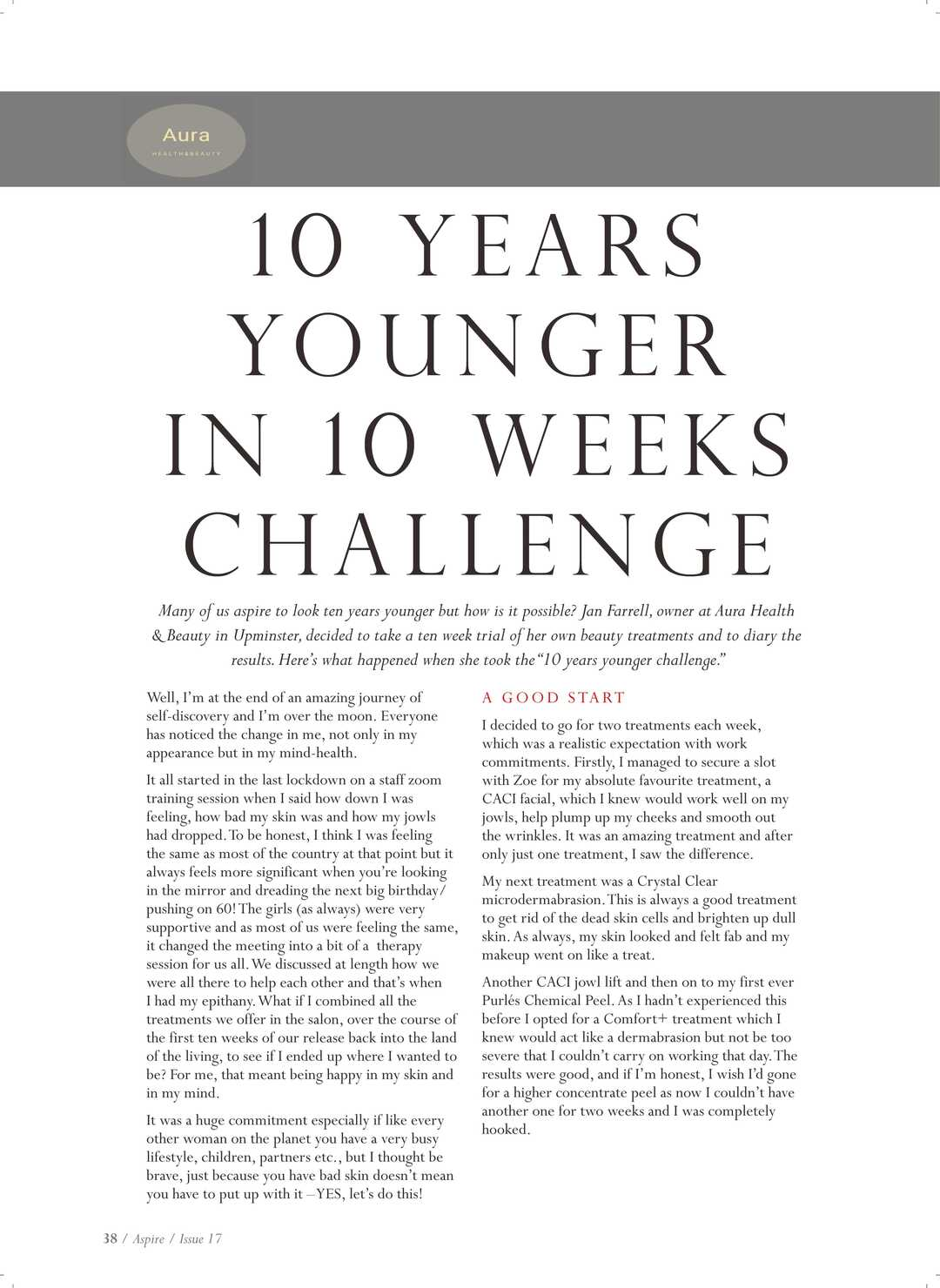 Page 38 of 10 Years Younger in 10 weeks Challenge