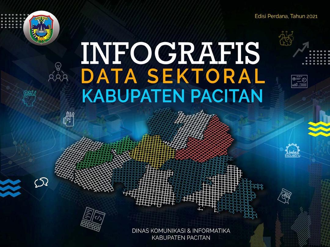 Page 1 of INFOGRAFIS DATA SEKTORAL KABUPATEN PACITAN 2021