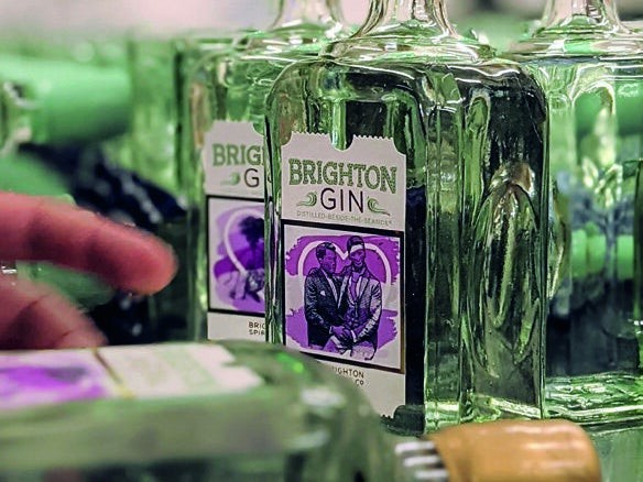 Page 8 of 'Community Spirit' from Brighton Gin