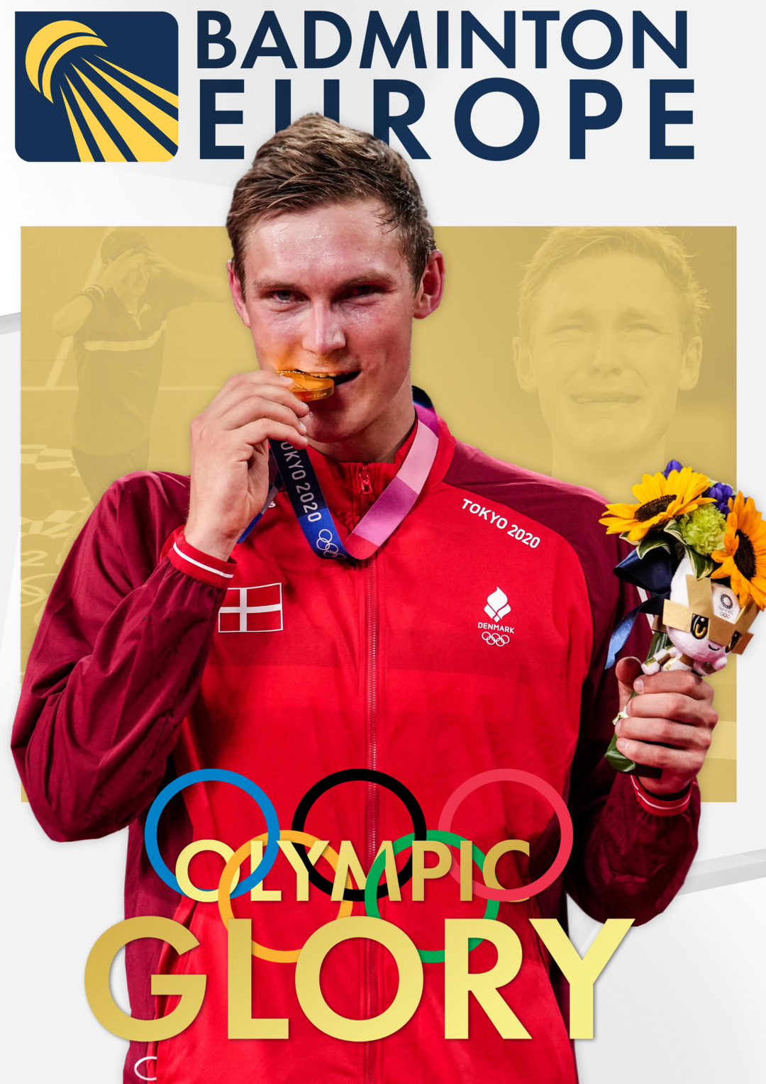 Page 1 of Olympic Glory - Badminton Europe Magazine issue 34
