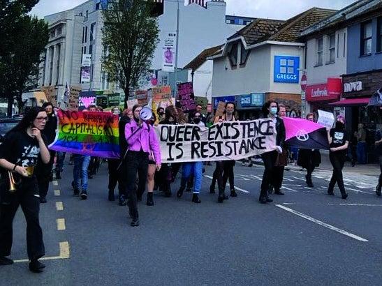 Page 7 of Reclaim Pride marches through Brighton city centre