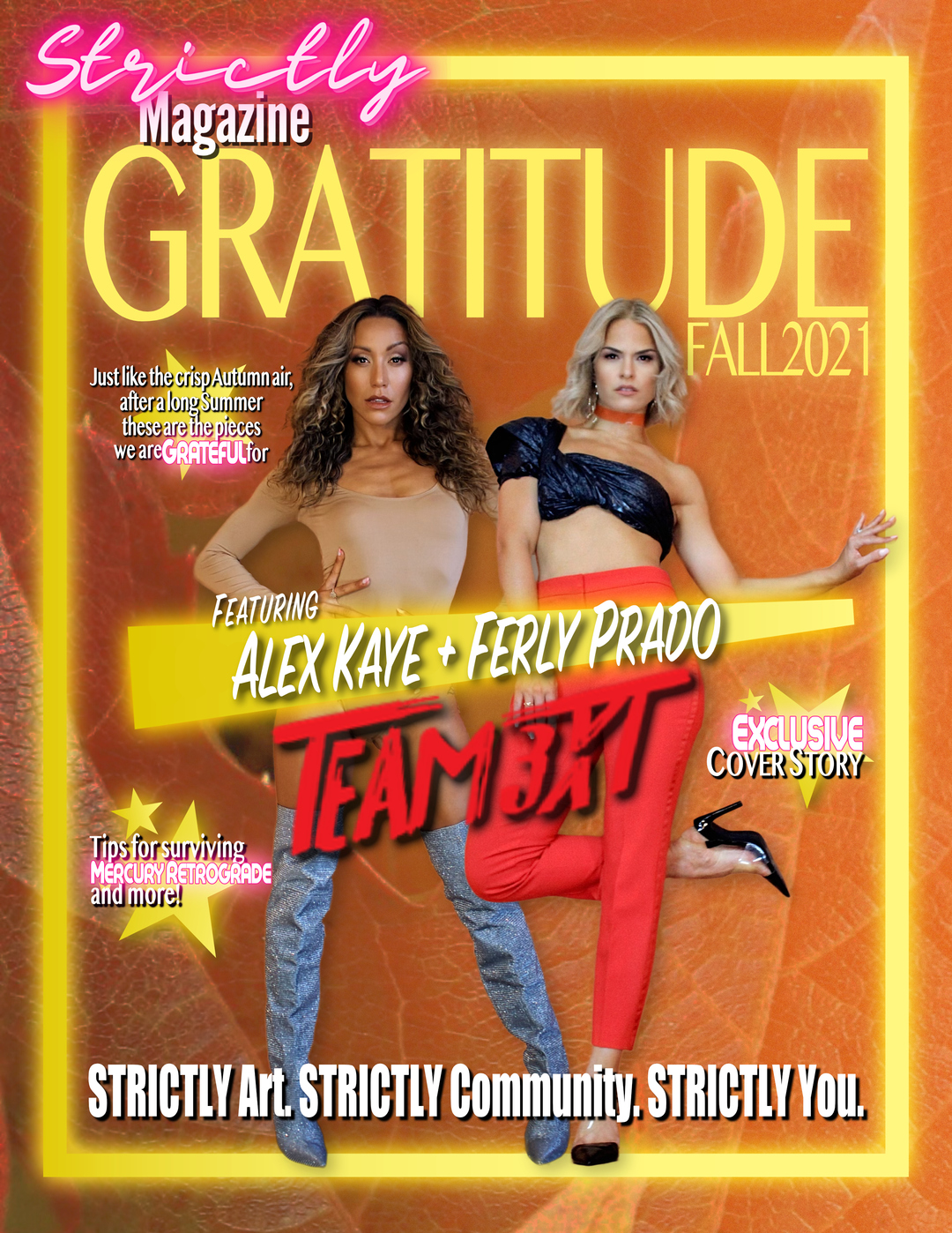 Page 1 of STRICTLY GRATITUDE: Fall 2021