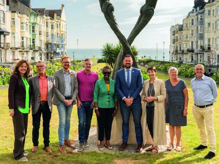 Page 10 of Winnie Byanyima, executive director of UNAIDS, visits Brighton